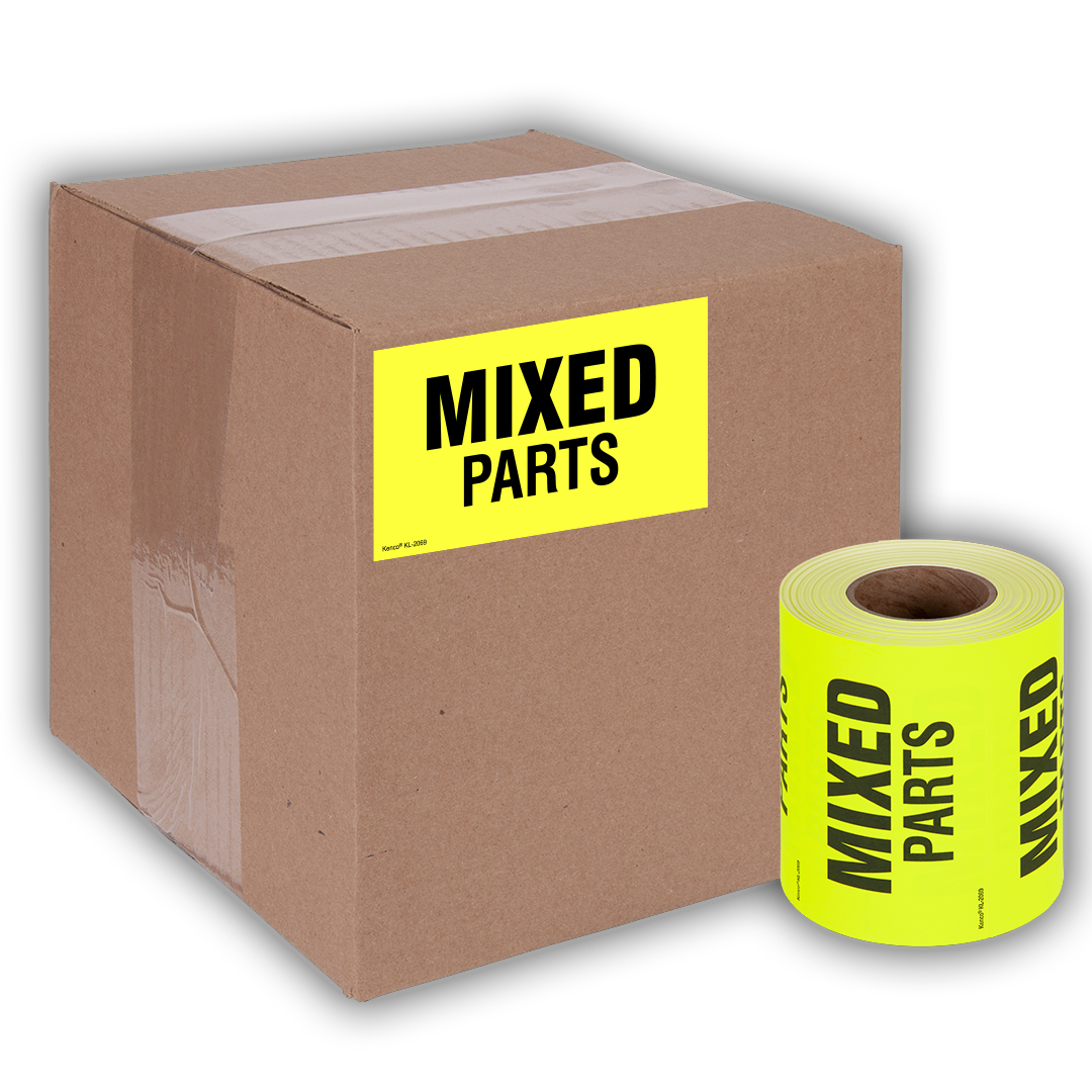 Mixed Parts Shipping Label Stickers